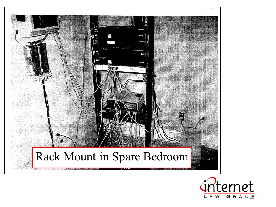 Rack Mount in Spare Bedroom