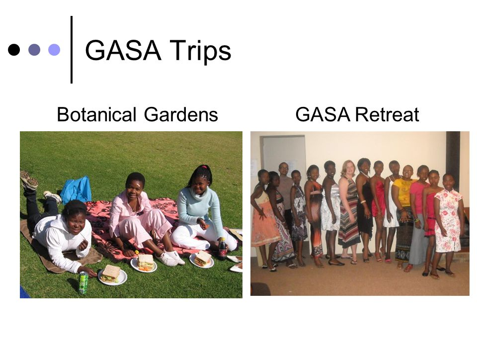 GASA Trips Botanical GardensGASA Retreat