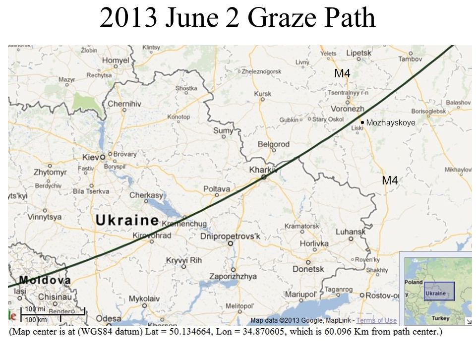 2013 June 2 Graze Path M4 Mozhayskoye