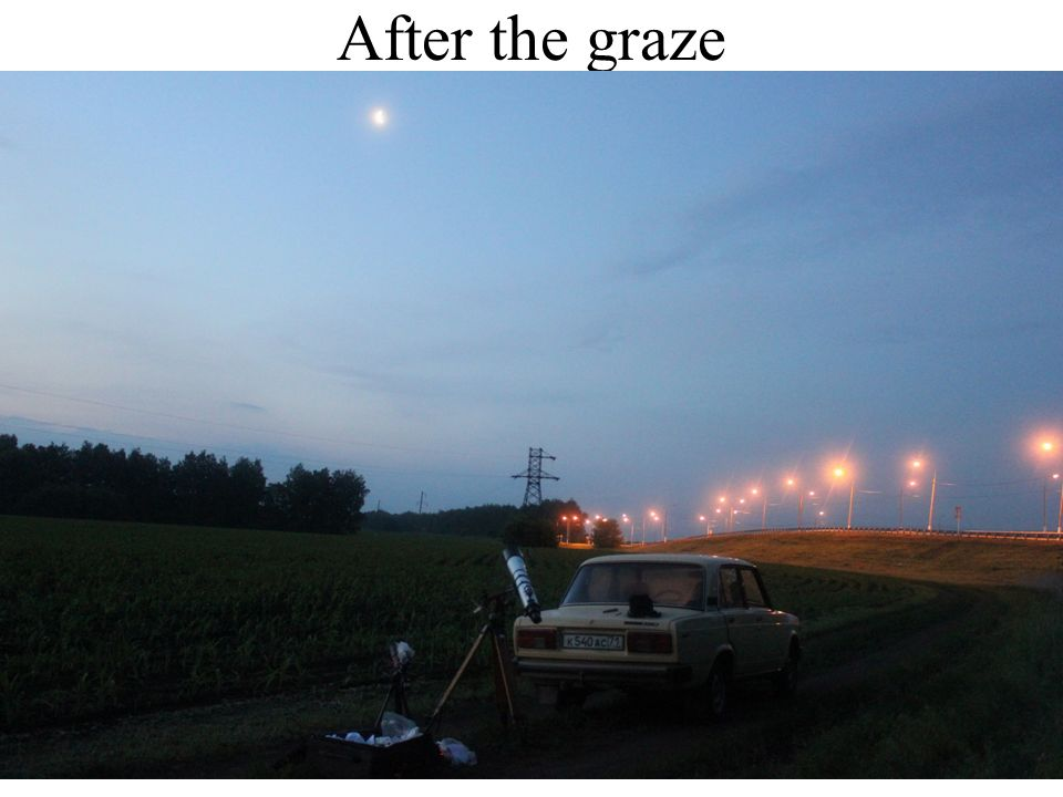 After the graze
