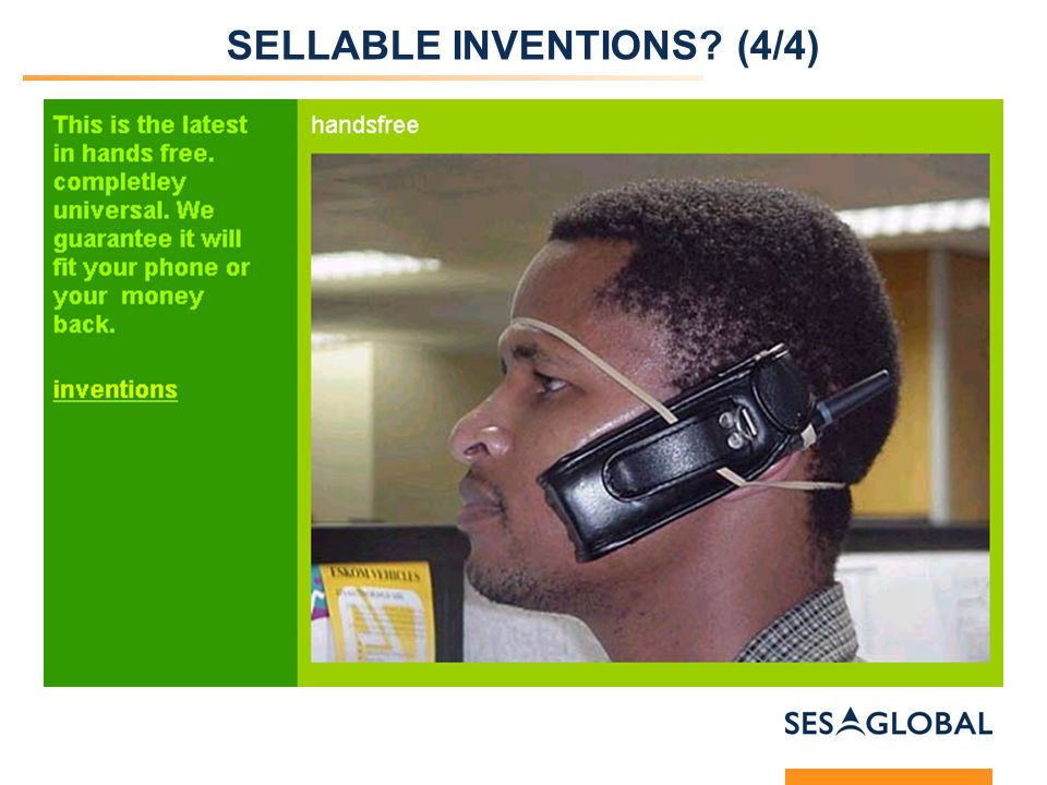 SELLABLE INVENTIONS (4/4)