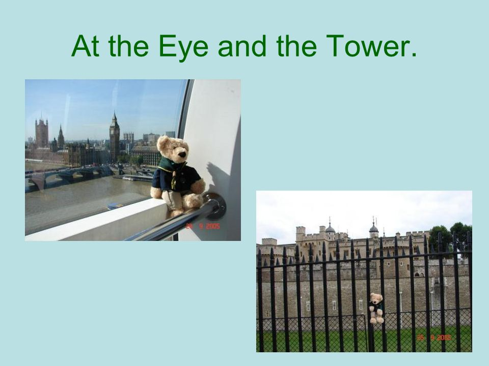 At the Eye and the Tower.