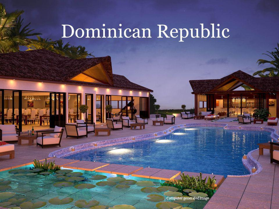 Dominican Republic Computer generated image