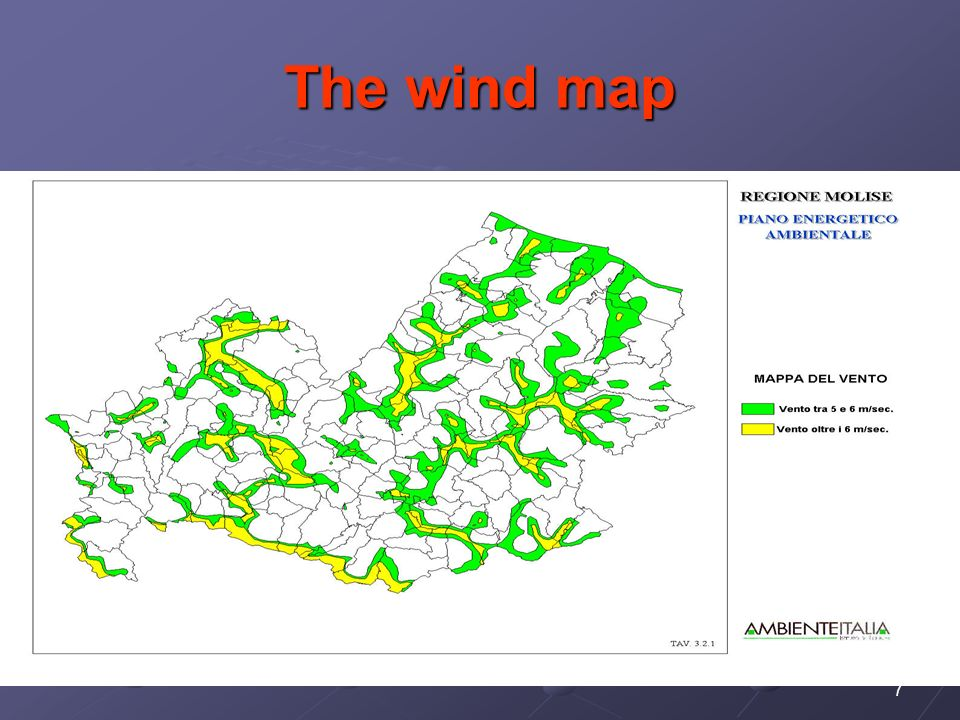 7 The wind map