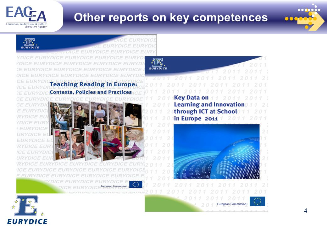 Other reports on key competences 4