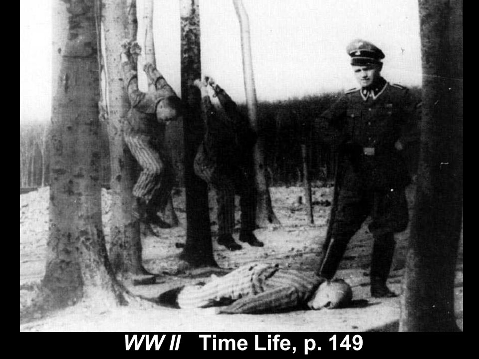 bodies piled up-several WW II Time Life, p. 149