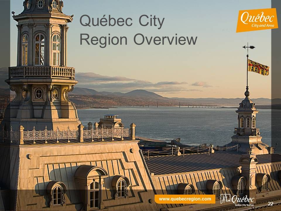 22 Québec City Region Overview