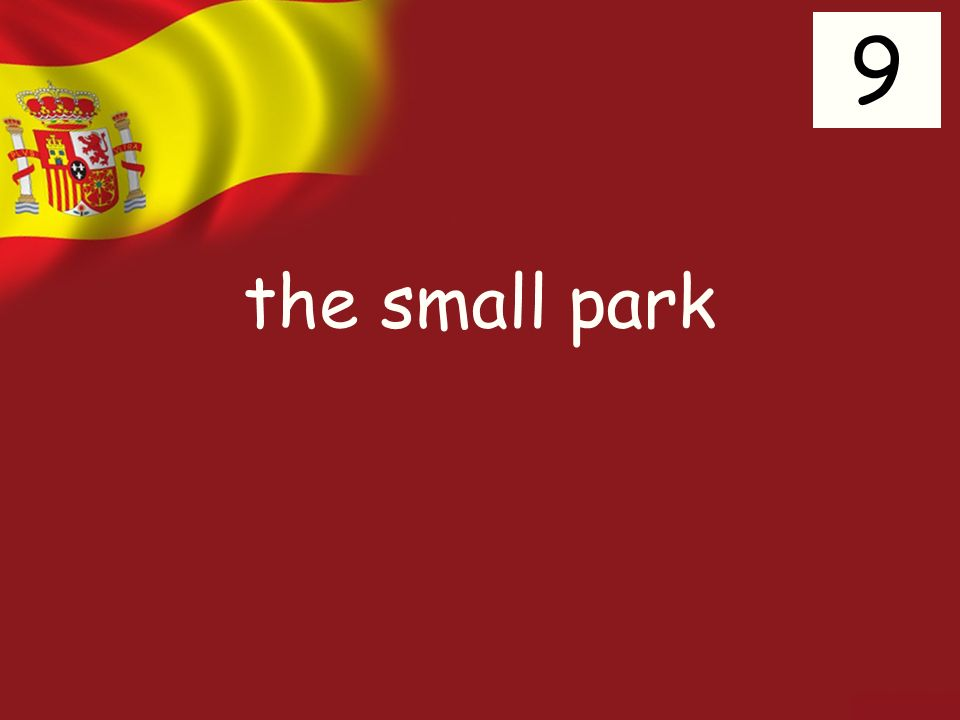 the small park 9