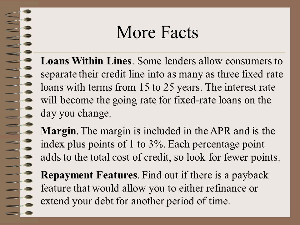 Loans Within Lines.