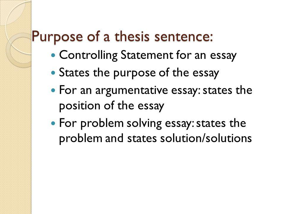 Essay On Health And Fitness  Mental Health Essays also Health Issues Essay Writing A Good Thesis Sentence Purpose Of A Thesis Sentence  Proposal Essay Topics Ideas