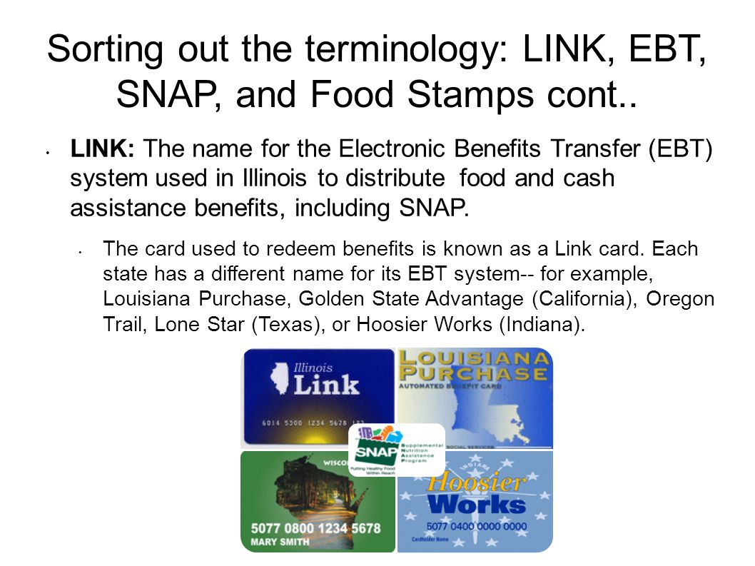 Getting your EBT program Up and running  Sorting out the