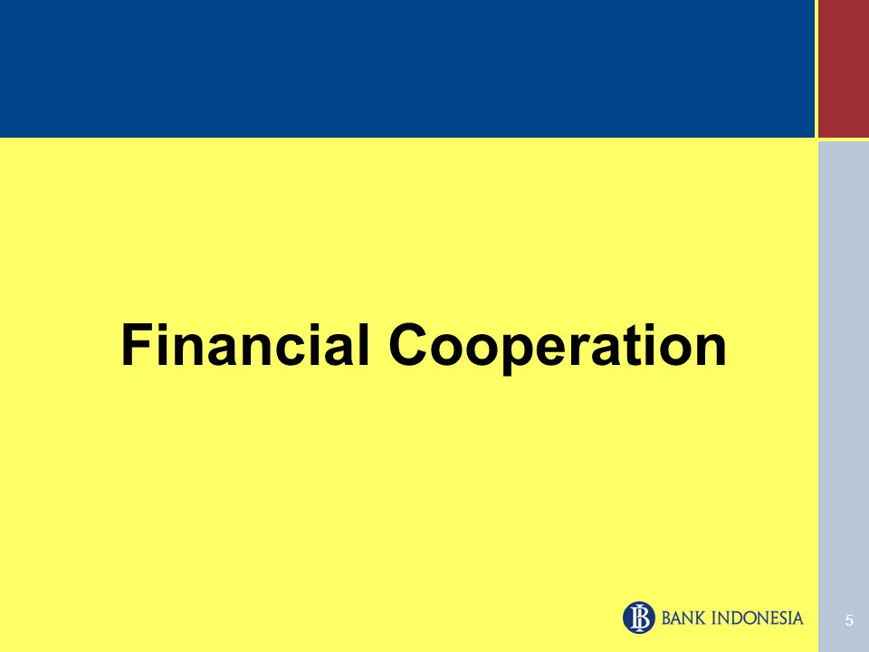 5 Financial Cooperation