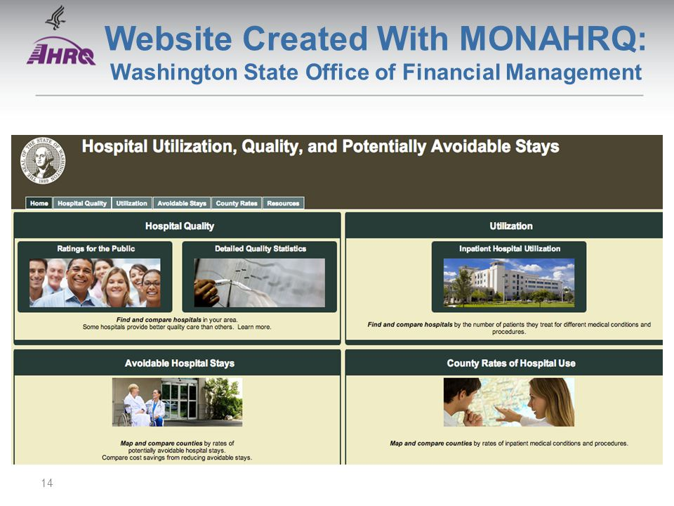 Website Created With MONAHRQ: Washington State Office of Financial Management 14
