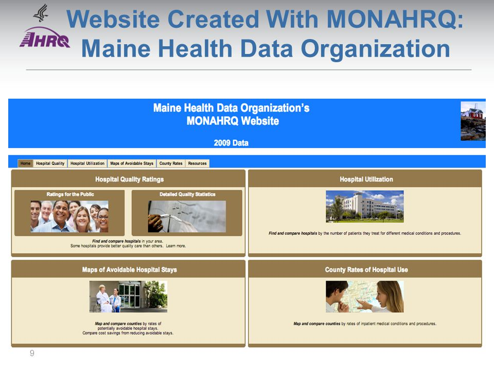 Website Created With MONAHRQ: Maine Health Data Organization 9