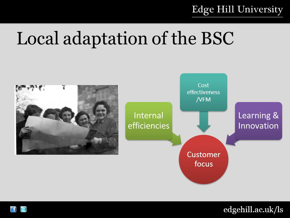 edgehill.ac.uk/ls Local adaptation of the BSC