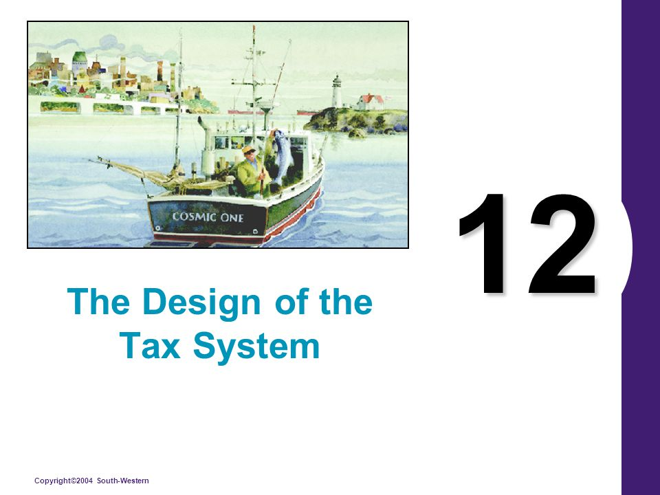 Copyright©2004 South-Western 12 The Design of the Tax System