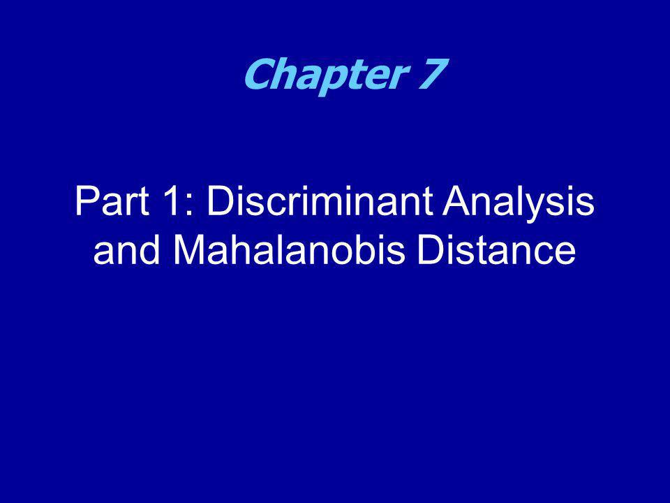 Introduction to Mathematical Programming MA/OR 504 Chapter 7
