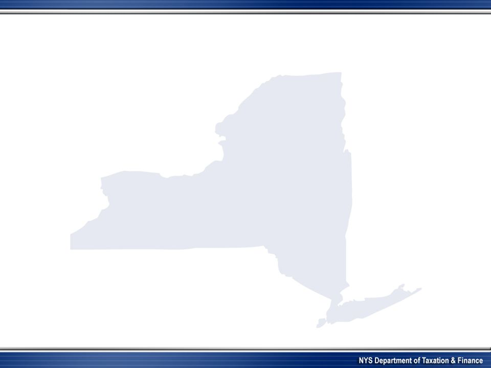 New York State Department Of Taxation And Finance Ppt Video Online