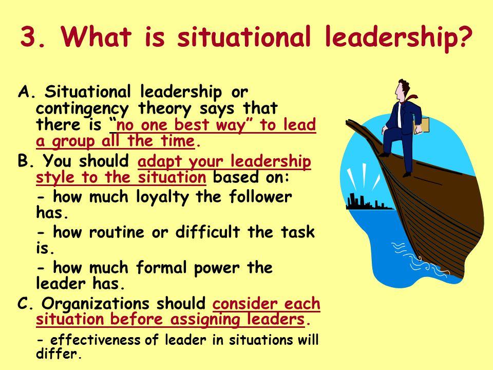 situational leadership in nursing