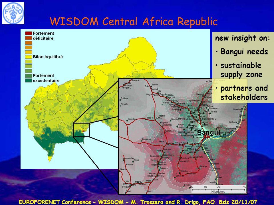 Euroforenet Conference Wisdom M Trossero And R Drigo Fao