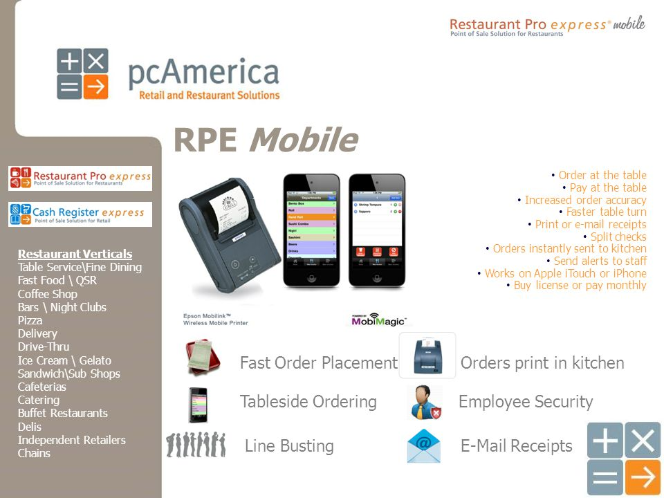 Retail and Restaurant Point of Sale Solutions Introductions