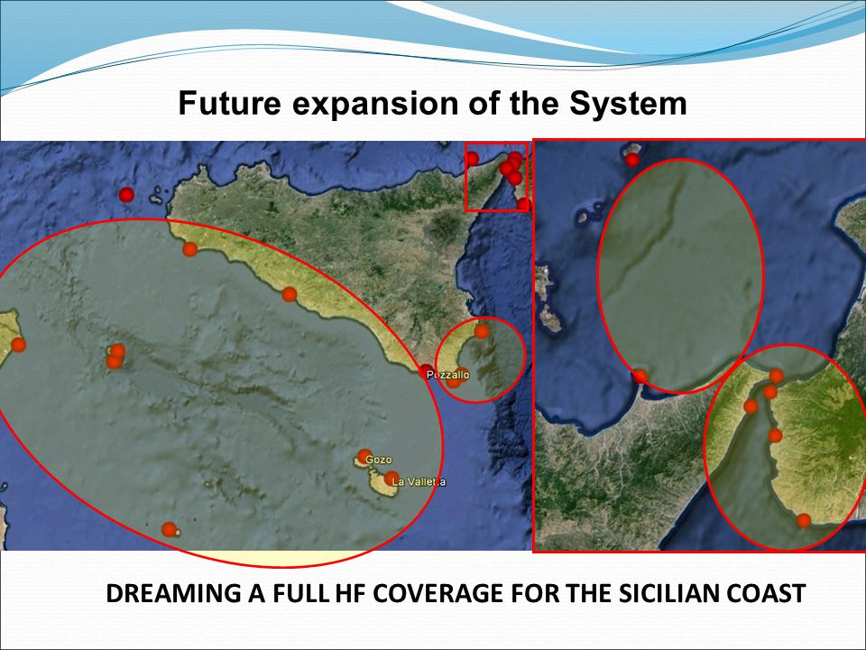 DREAMING A FULL HF COVERAGE FOR THE SICILIAN COAST coverage until the 24° Aug.