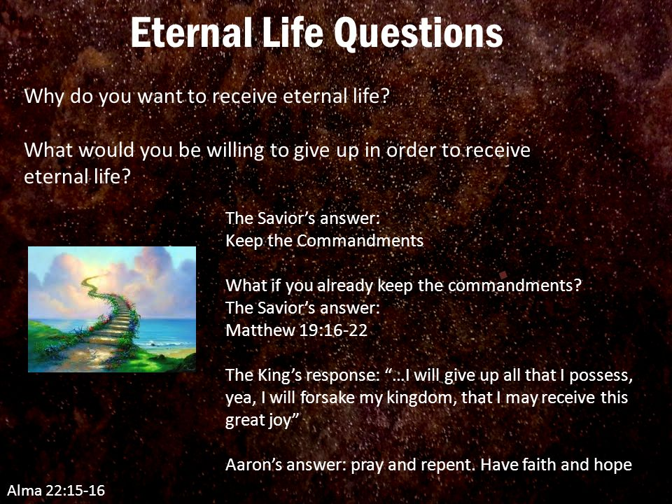 Lesson 84 Aaron Preaches of Sacrifice for Eternal Salvation