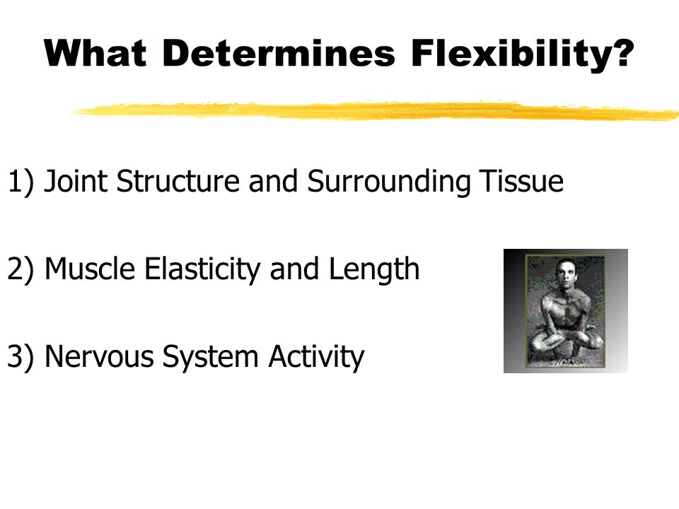 What Determines Flexibility.