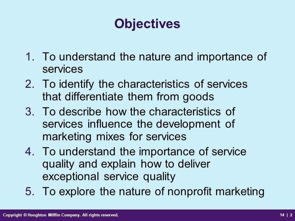4 characteristics of service marketing