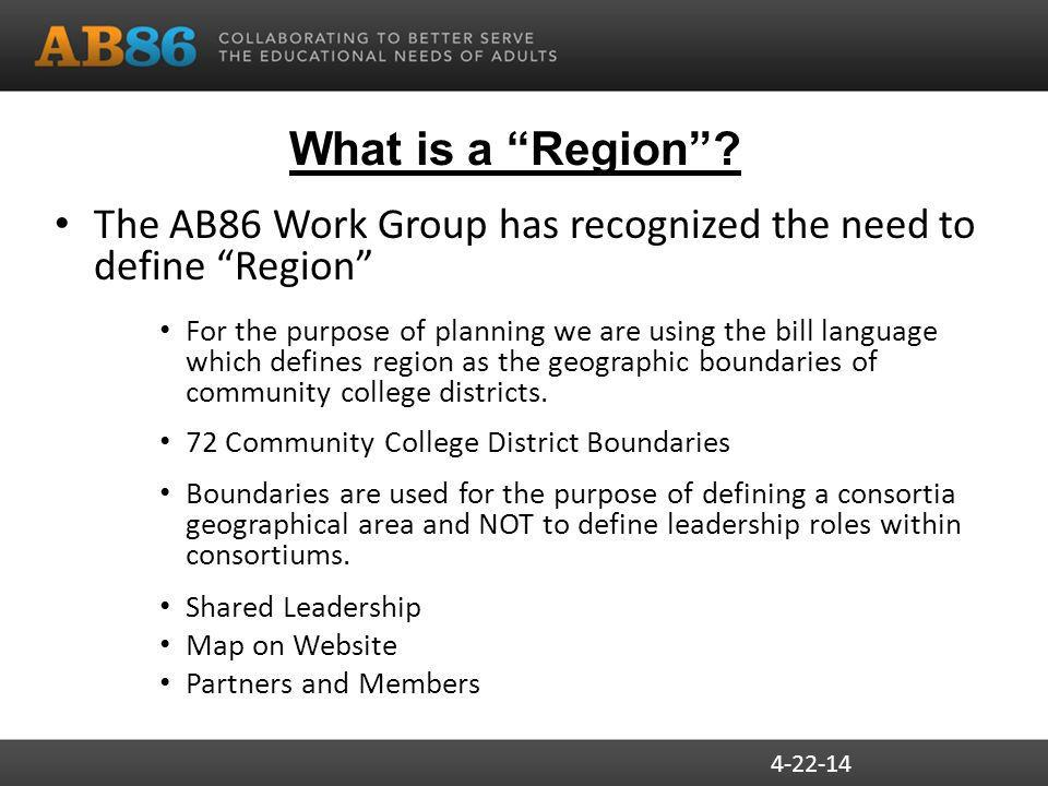What is a Region .