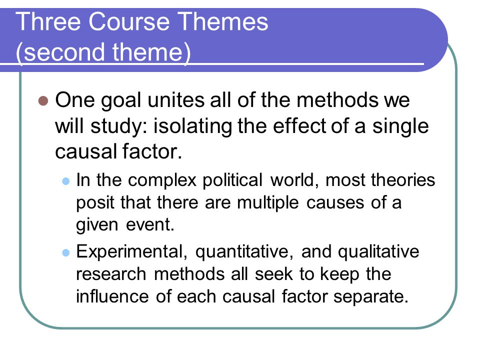 examples of themes in research
