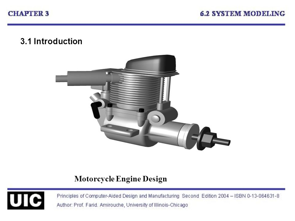 3.1 Introduction Motorcycle Engine Design