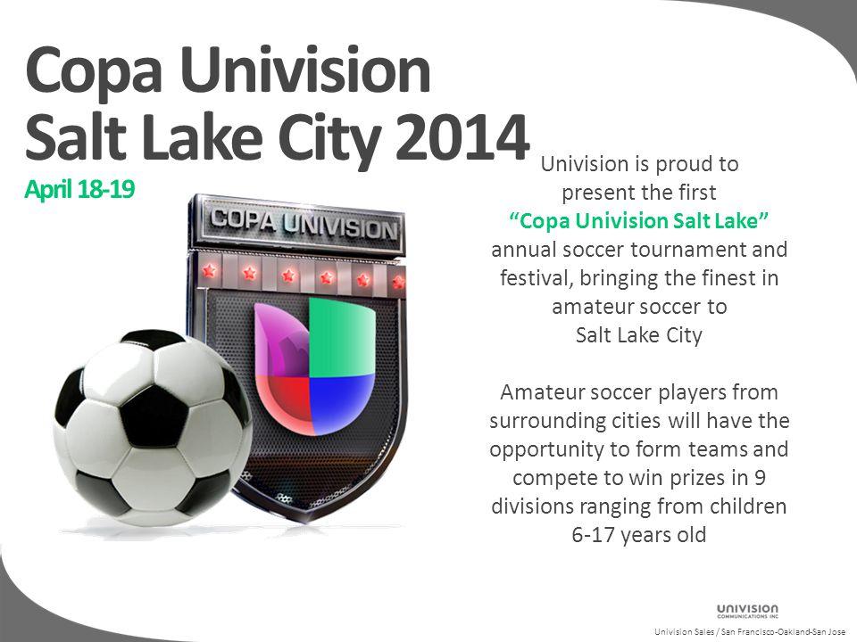 Univision Sales / San Francisco-Oakland-San Copa Univision