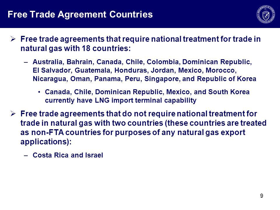 Us Natural Gas Importexport Regulatory Process Exporting Lng
