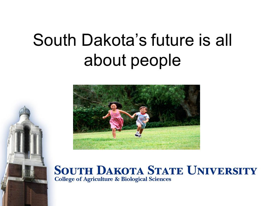 South Dakota's future is all about people