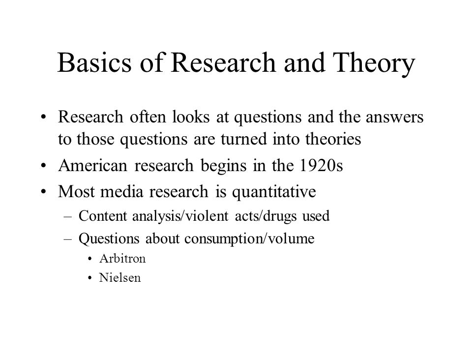 mass media research questions