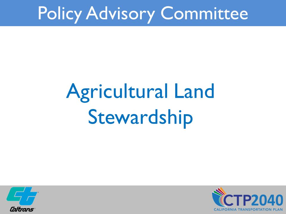 Agricultural Land Stewardship Policy Advisory Committee