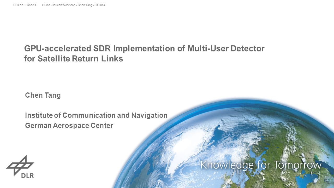 GPU-accelerated SDR Implementation of Multi-User Detector for