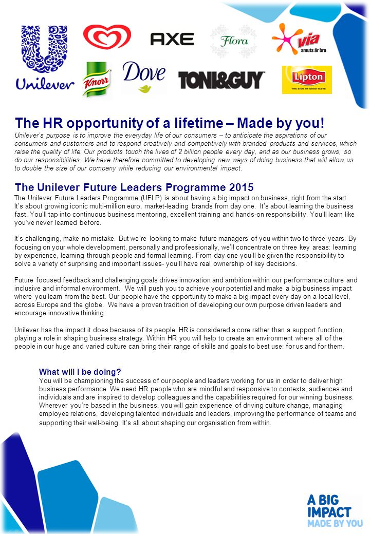 The HR opportunity of a lifetime – Made by you.