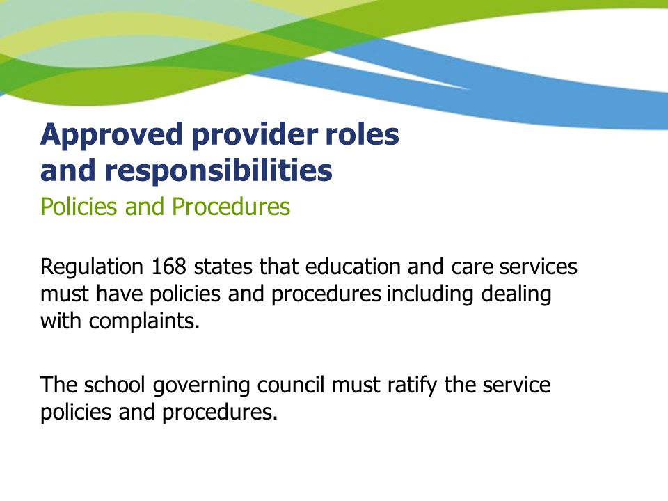 roles and responsibilities of school governors senior Every school a good school - the governors' role this guide provides you with details of school governor roles and responsibilities you can view or download the guide as a pdf document using the link below.