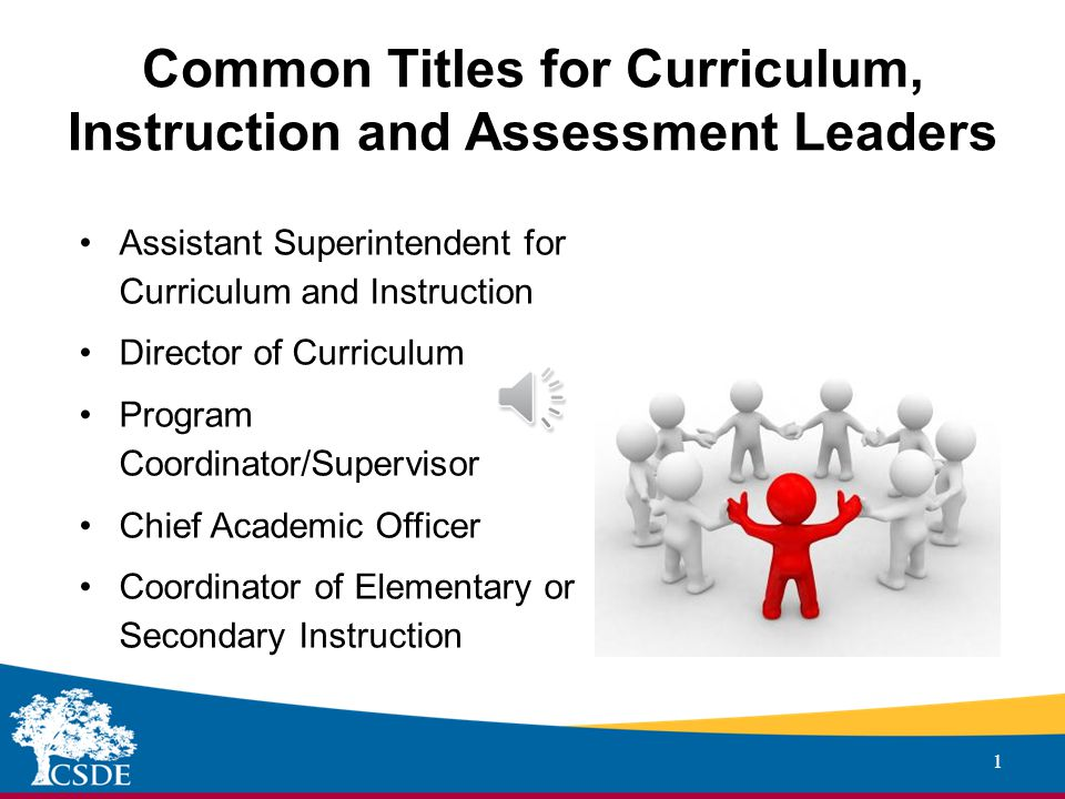 Sub-heading ADMINISTRATOR EVALUATION AND SUPPORT SYSTEM Curriculum, Instruction and Assessment Leader Proposed Adaptations