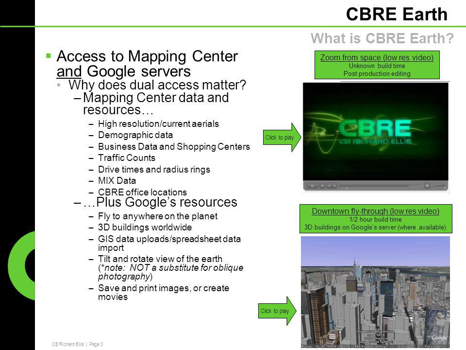Marketing Call CBRE Earth  CB Richard Ellis | Page 2 CBRE