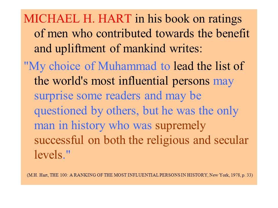 Michael H Hart The 100 Book