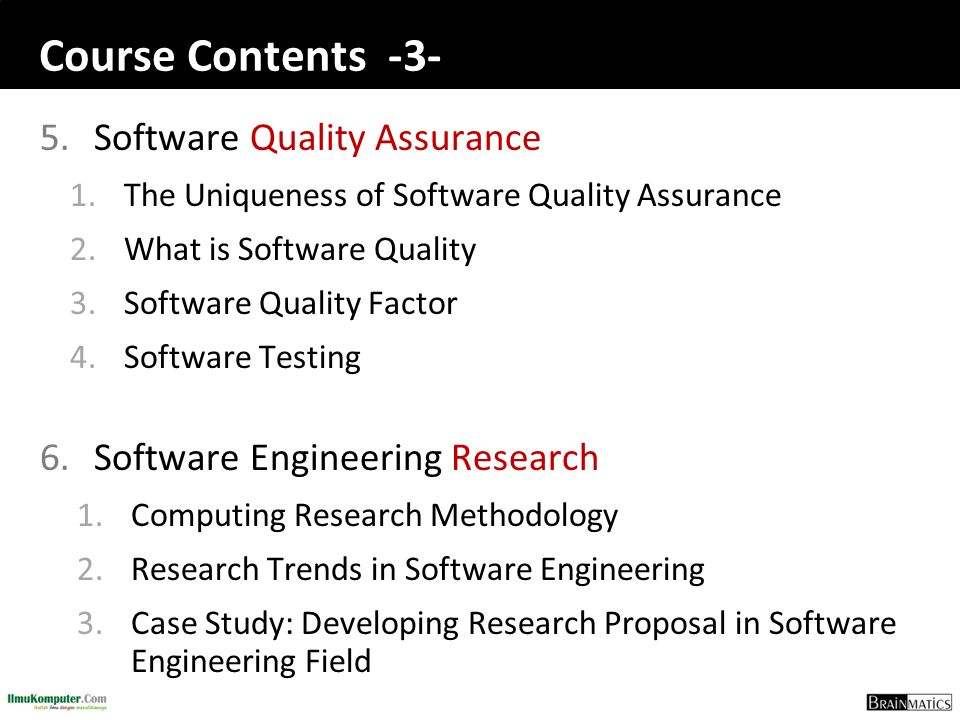 Software engineering construction romi satria wahono ppt download 5 course ccuart Gallery