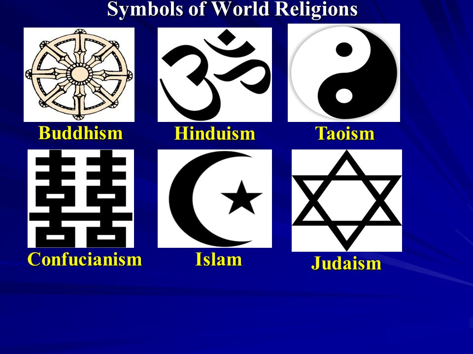 The Sign Of The Cross Symbols Of World Religions Buddhism