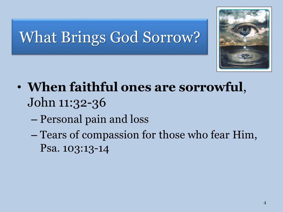 acquainted with sorrow
