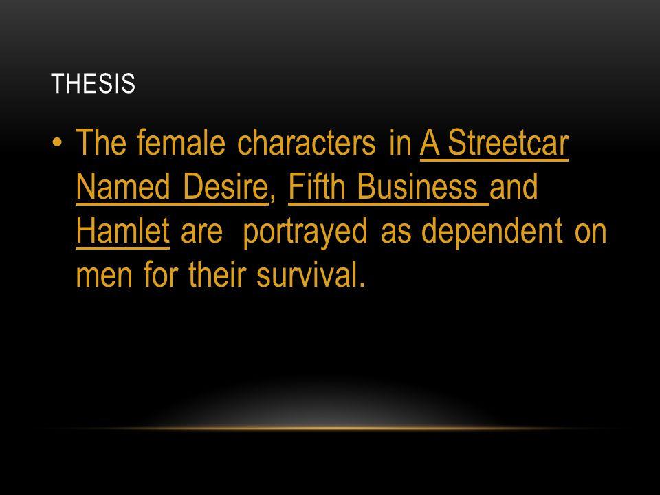 literary analysis essay on a streetcar named desire
