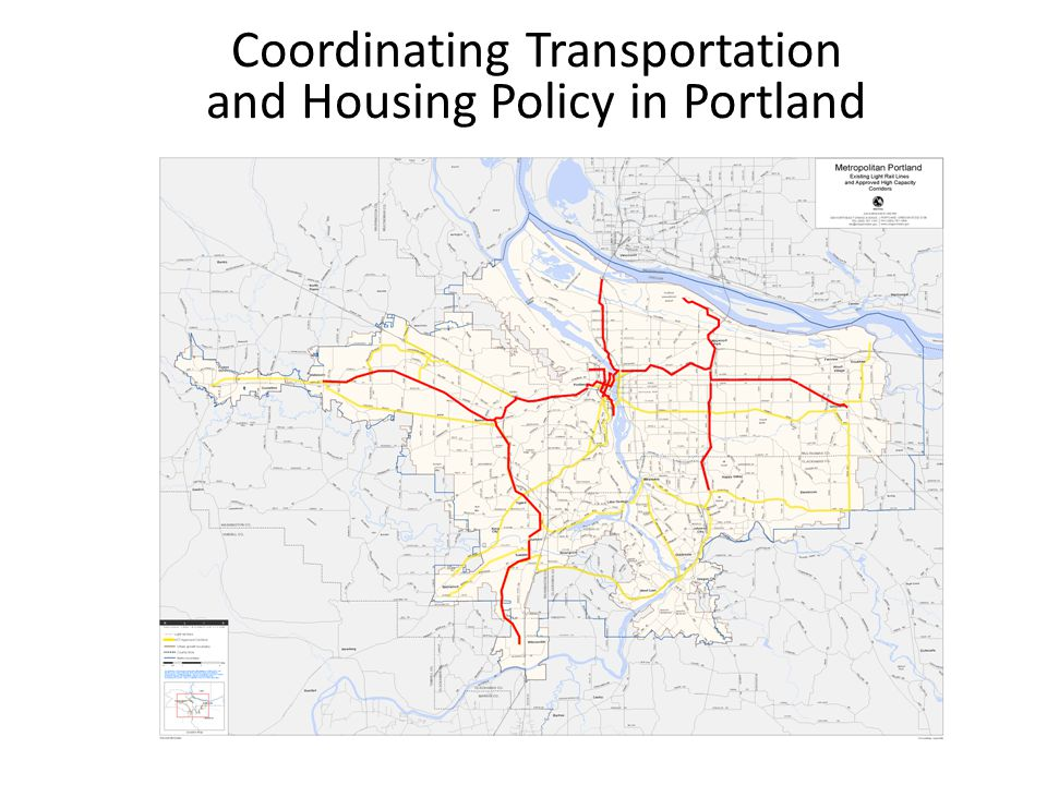 Coordinating Transportation and Housing Policy in Portland