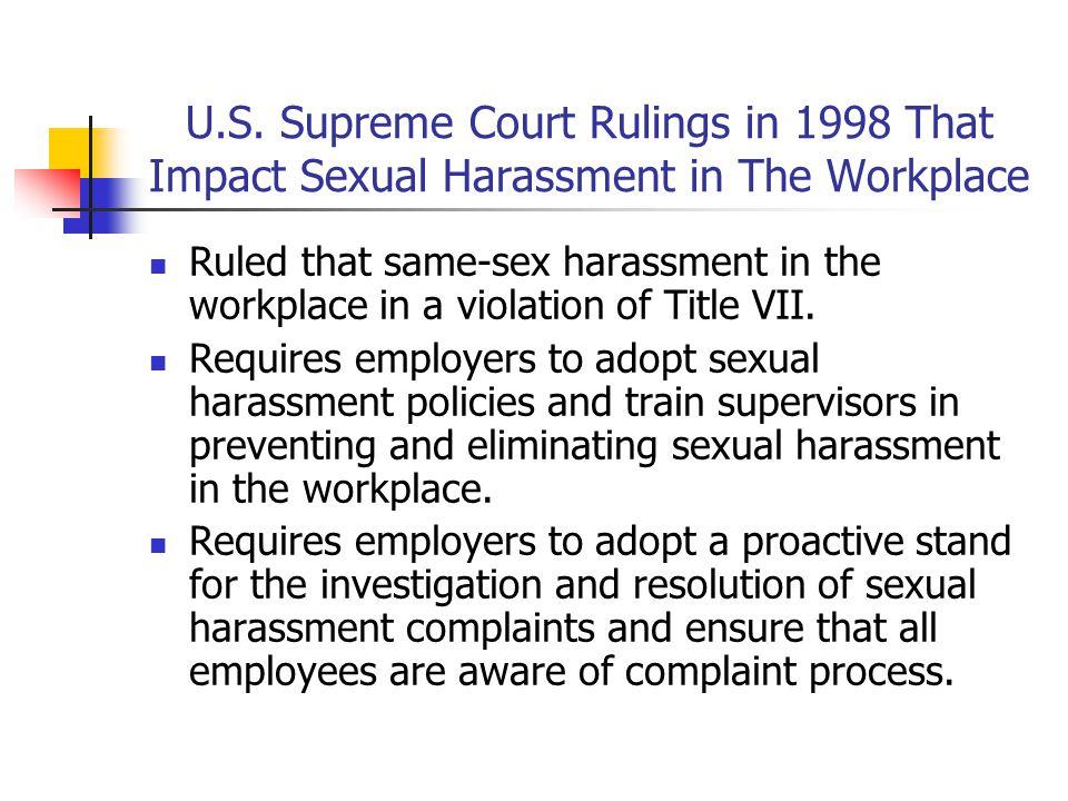 1998 supreme court sexual harassment pics 180