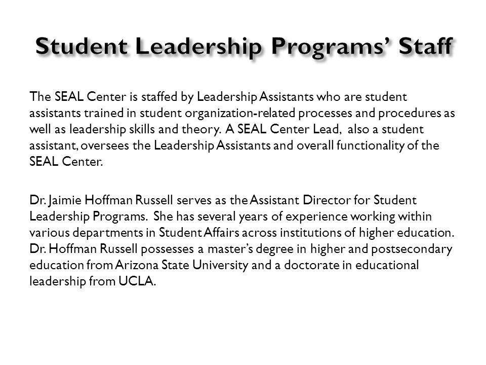 Student Organizations   Student Leadership Programs Click